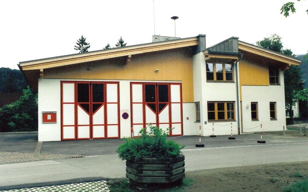 1999-Einweihung Feuerwehrhaus