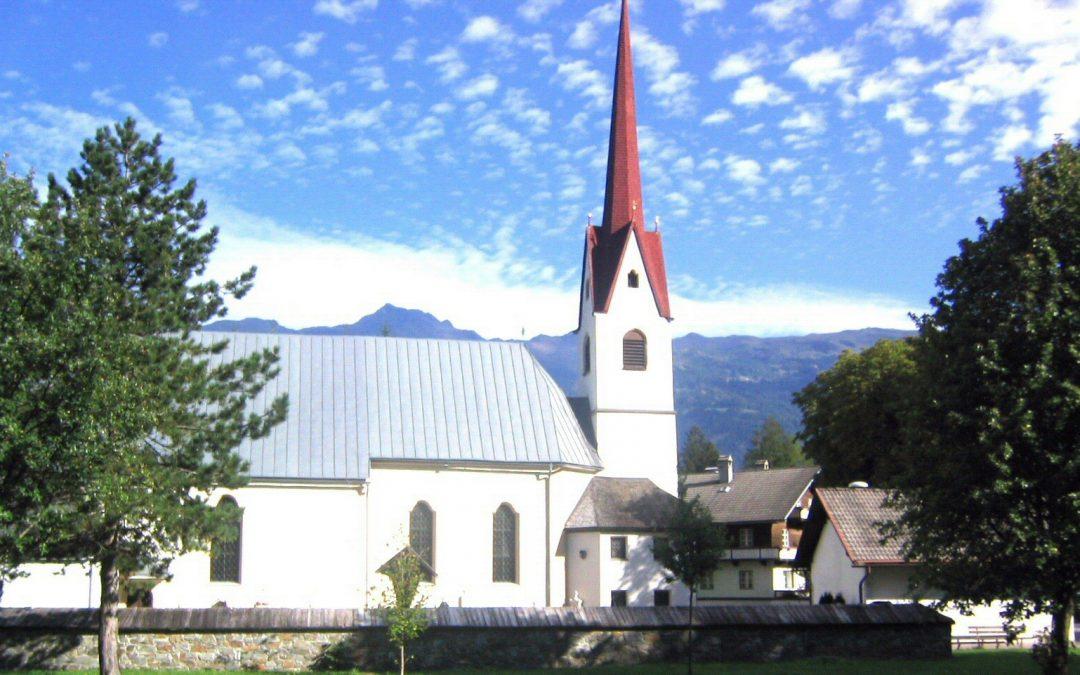 Die Sanierung des Kirchturmes