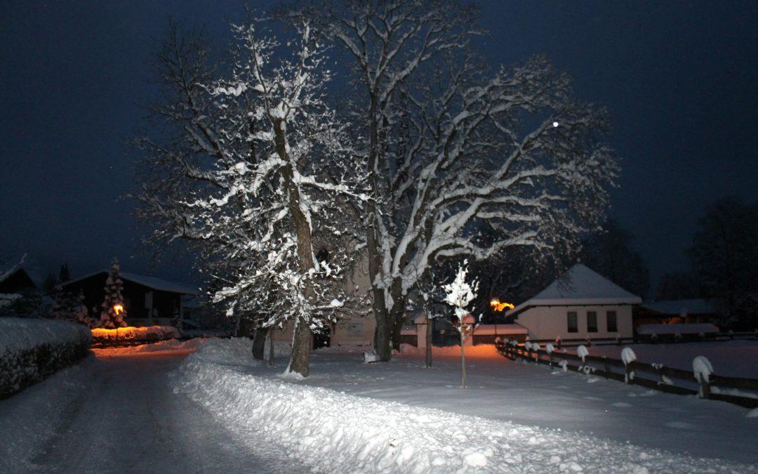 Weihnachtliche Stimmung im Dorf – 2013