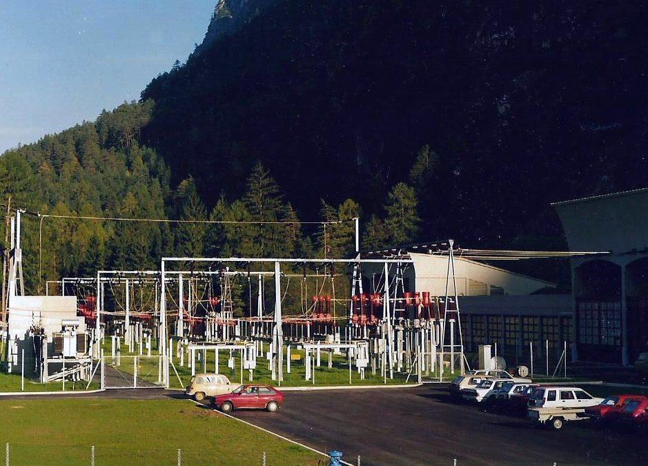 Das Tiwag Kraftwerk in Amlach