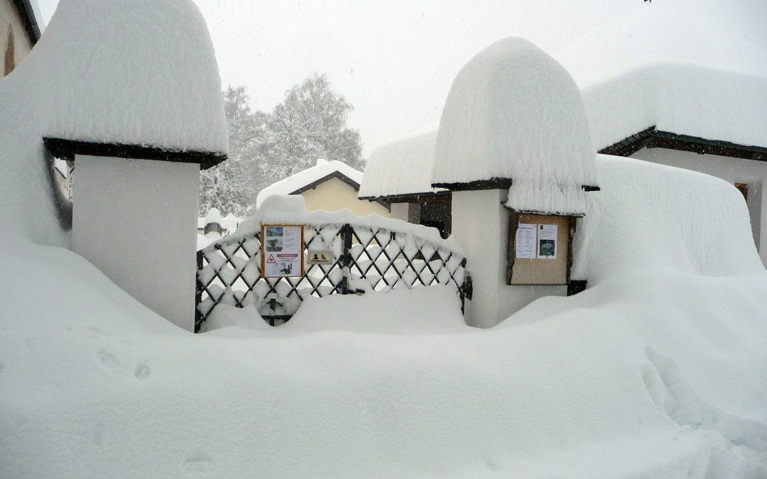 Amlach – Schneebilder 31. Jänner 2014