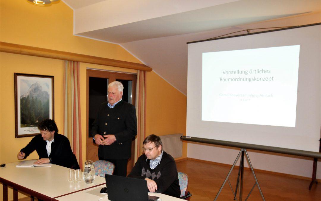 Gemeindeversammlung 24. Jänner 2017