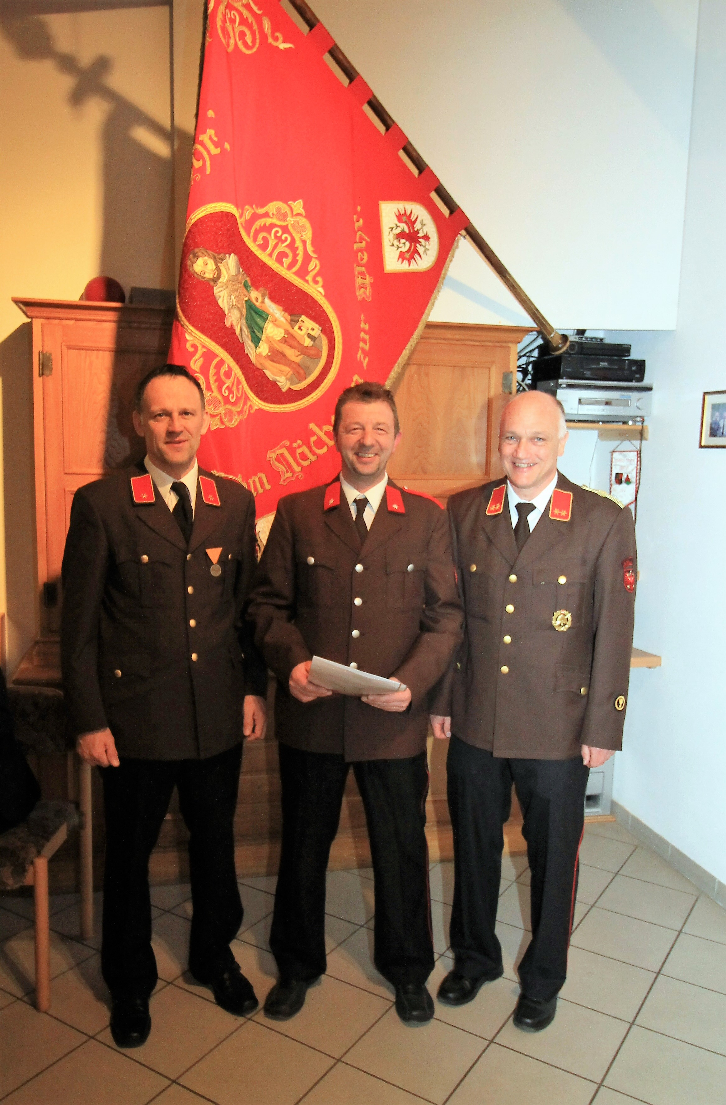 Christian Volkan - Beförderung zum OFM