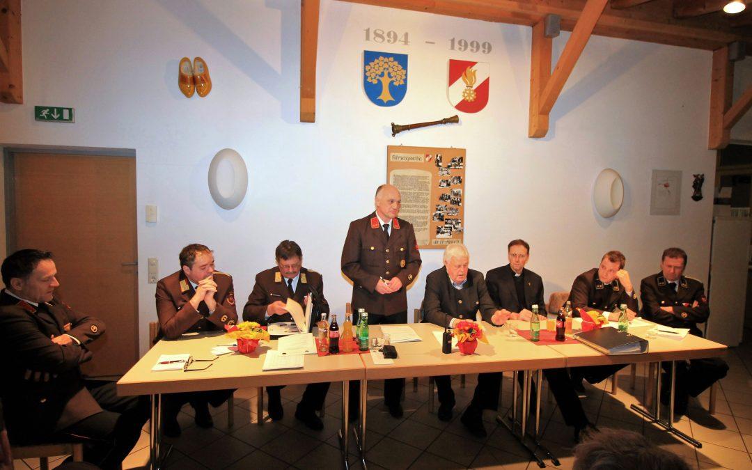 FF-Amlach – 123. Jahreshauptversammlung