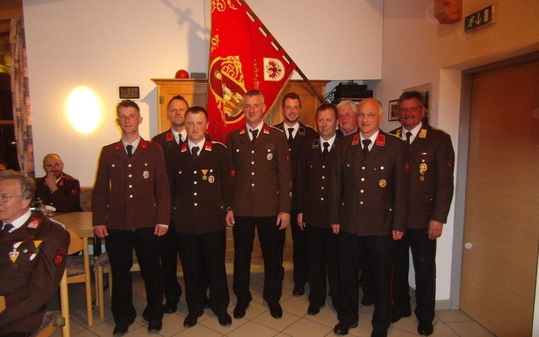 Die Feuerwehr Amlach ist unter neuer Führung – ein Bericht von Michl Rainer