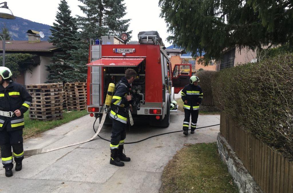 Brandeinsatz Kaminbrand der FF-Amlach
