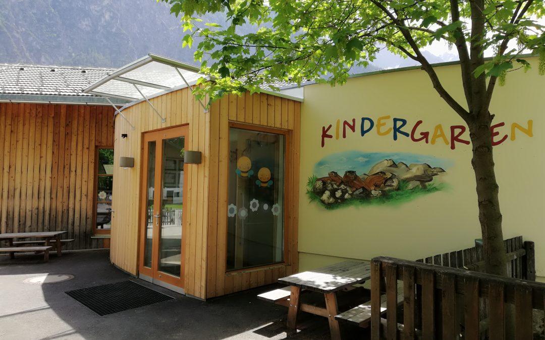 Einladung – Einweihungsfeier Kindergarten Amlach