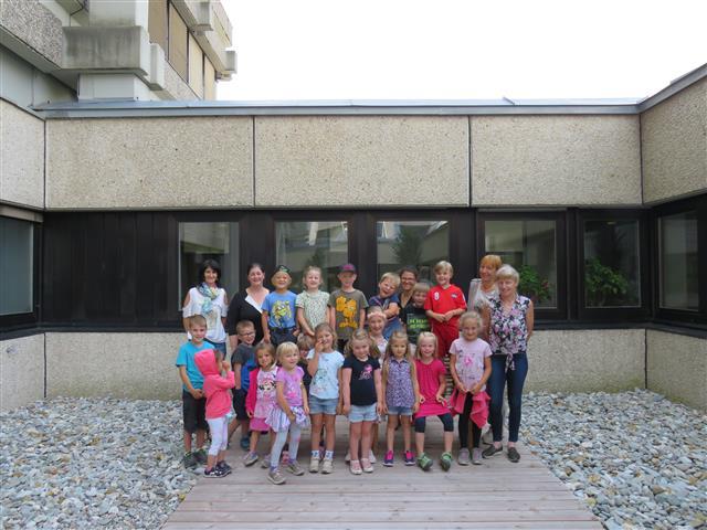 Kindergaten Amlach zu Besuch in der Bezirkshauptmannschaft Lienz