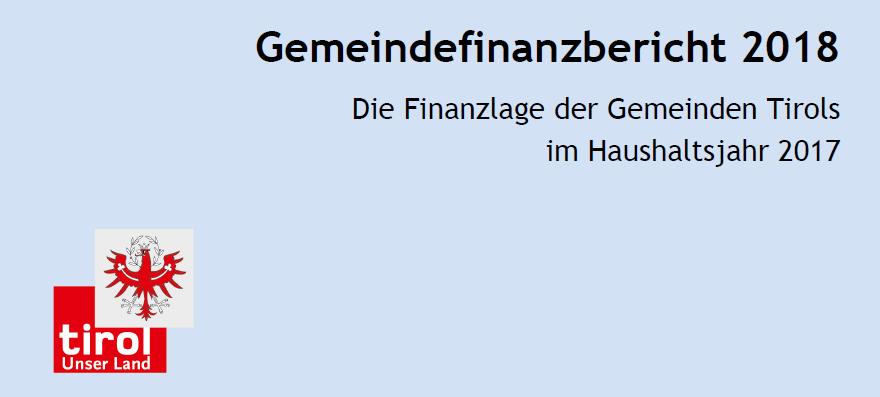 Gemeindefinanzbericht 2018