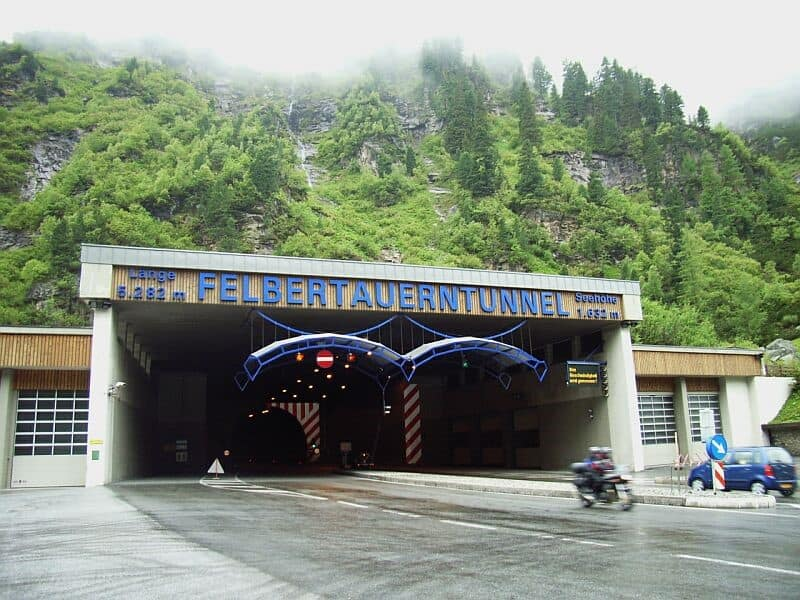 Felbertauernstraße – Tunnelsperre