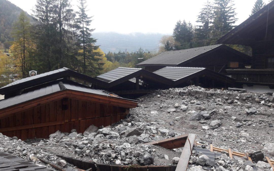 Unterstützung für Hochwasser-Opfer in Amlach