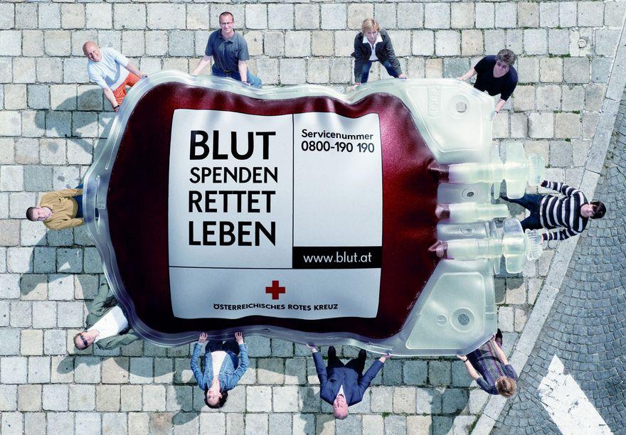 AUFRUF – Blut spenden!