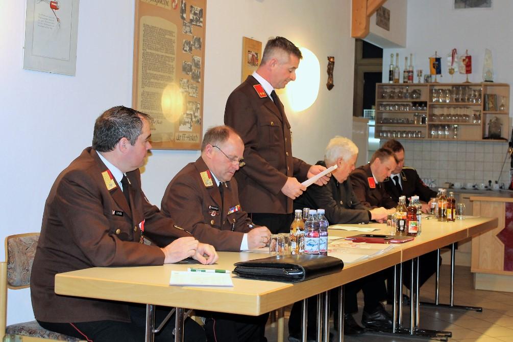 FF-Amlach 125. Jahreshauptversammlung