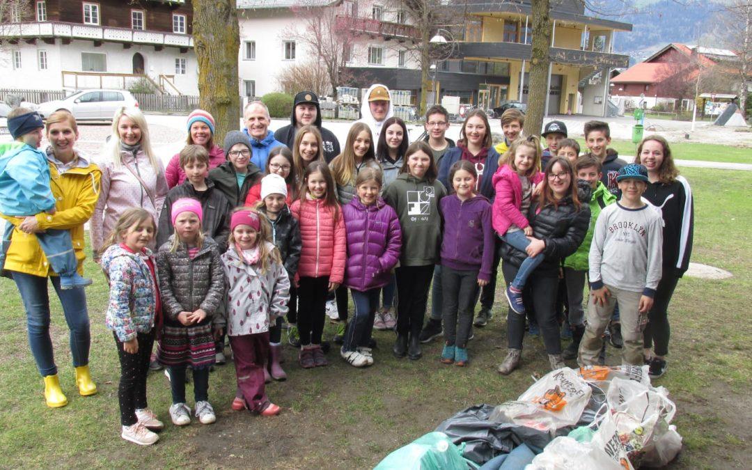 Unser Dorfputz war wieder Abenteuer, Spaß und viel Bewegung… von Michl Rainer