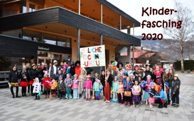 Kinderfasching 2020 in Amlach