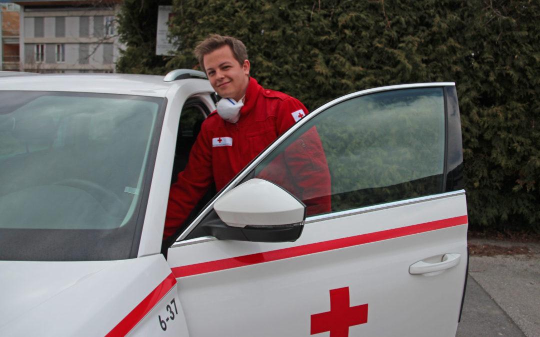 Betreuter Fahrdienst vom Roten Kreuz