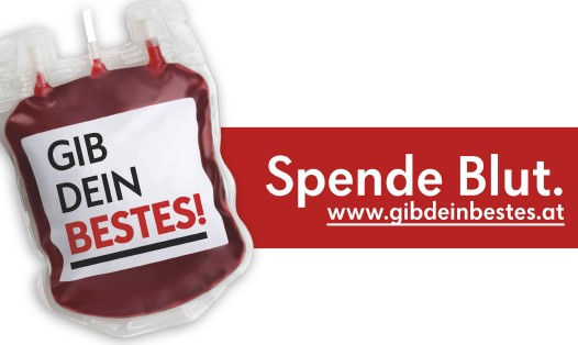Blutspenden – Wirtschaftskammer Lienz – Mittwoch 08.07.2020 – von 14:00 bis 20:00 Uhr