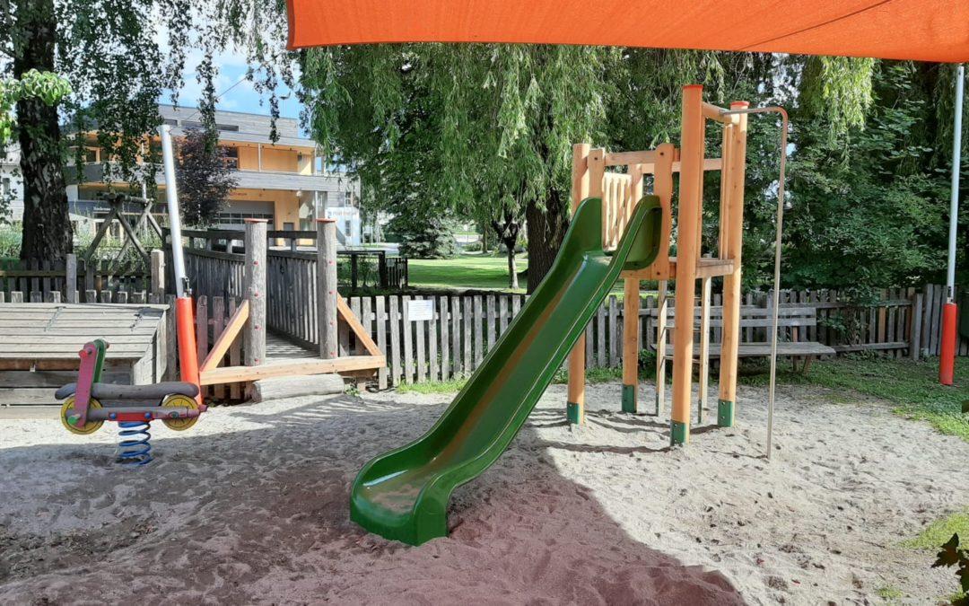 Sanierung Spielplatz Kindergarten