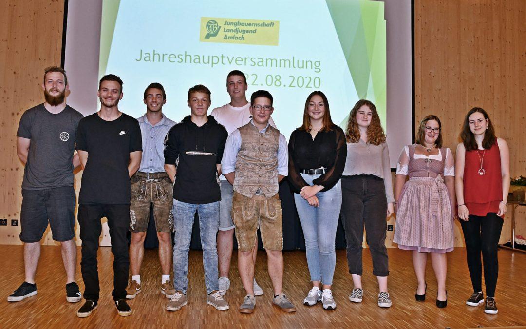 Jahreshauptversammlung 2020 der Jungbauernschaft / Landjugend Amlach