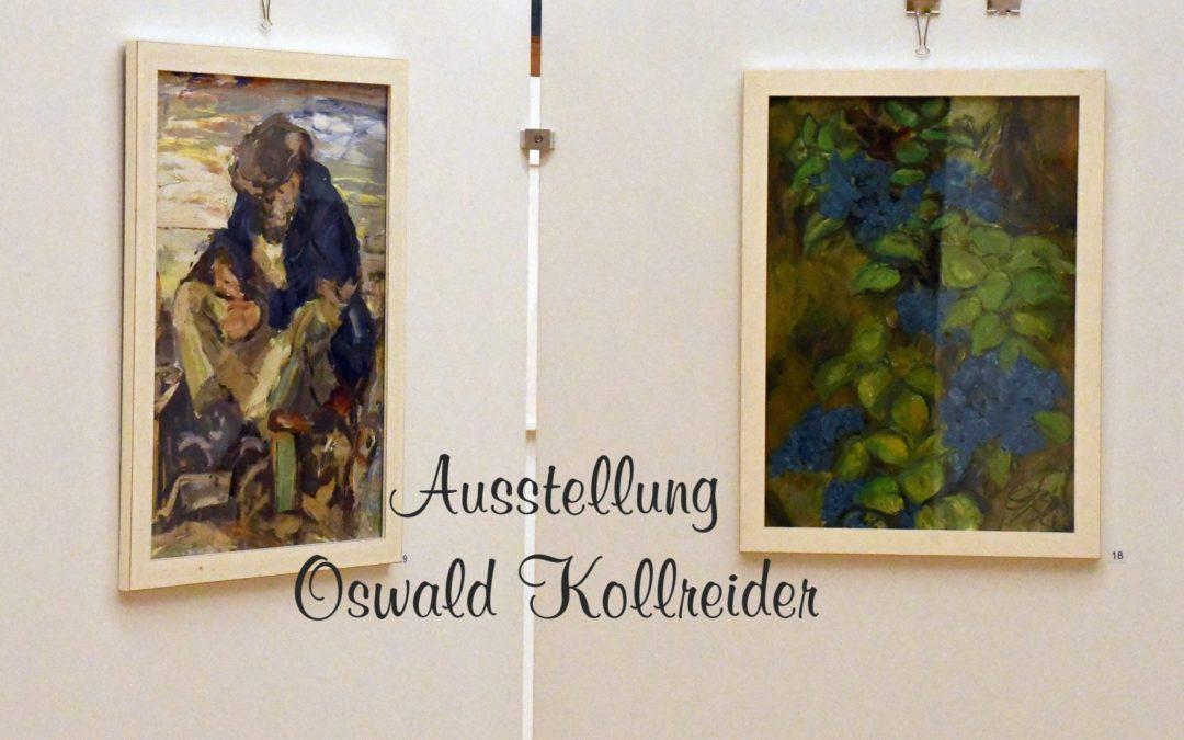 *** ACHTUNG *** Ausstellung von Prof. Oswald Kollreider muss wegen der geltenden COVID 19 Maßnahmen vorzeitig geschlossen werden
