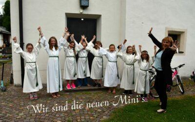 Hurra – wir sind die neuen Mini`s
