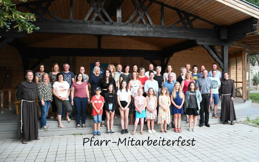 Mitarbeiterfest der Pfarrgemeinde Amlach 2021