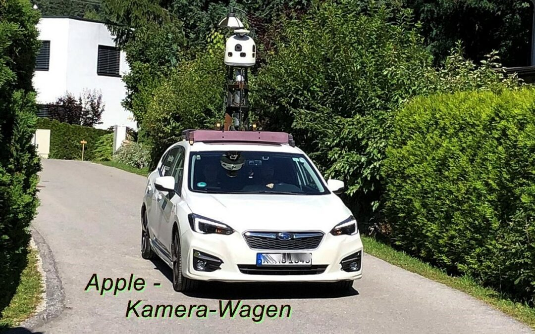 Apple Kamerawagen in Amlach