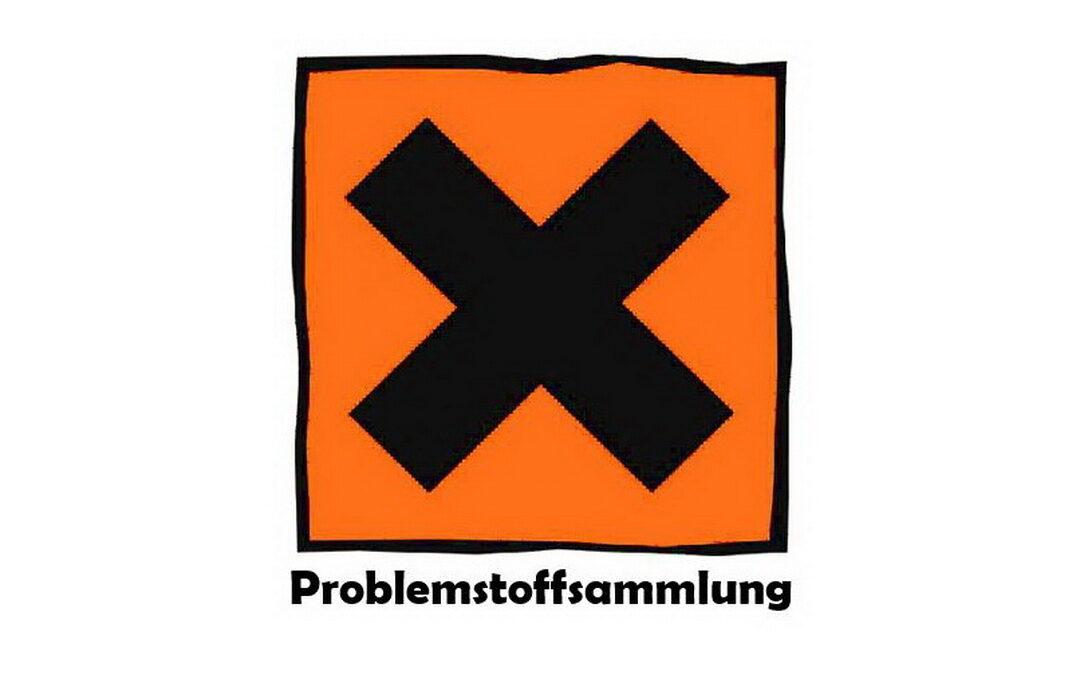 Problemstoff- und Elektroaltgerätesammlung Herbst 2021